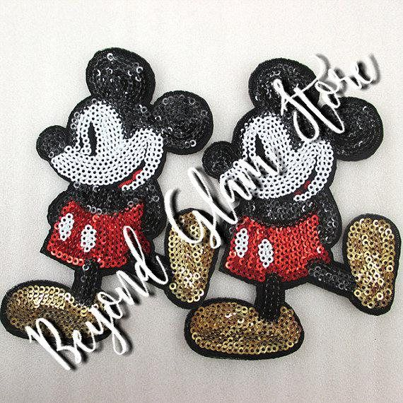 Mickey So Awesome Embroidery Patch- Choose Quantity