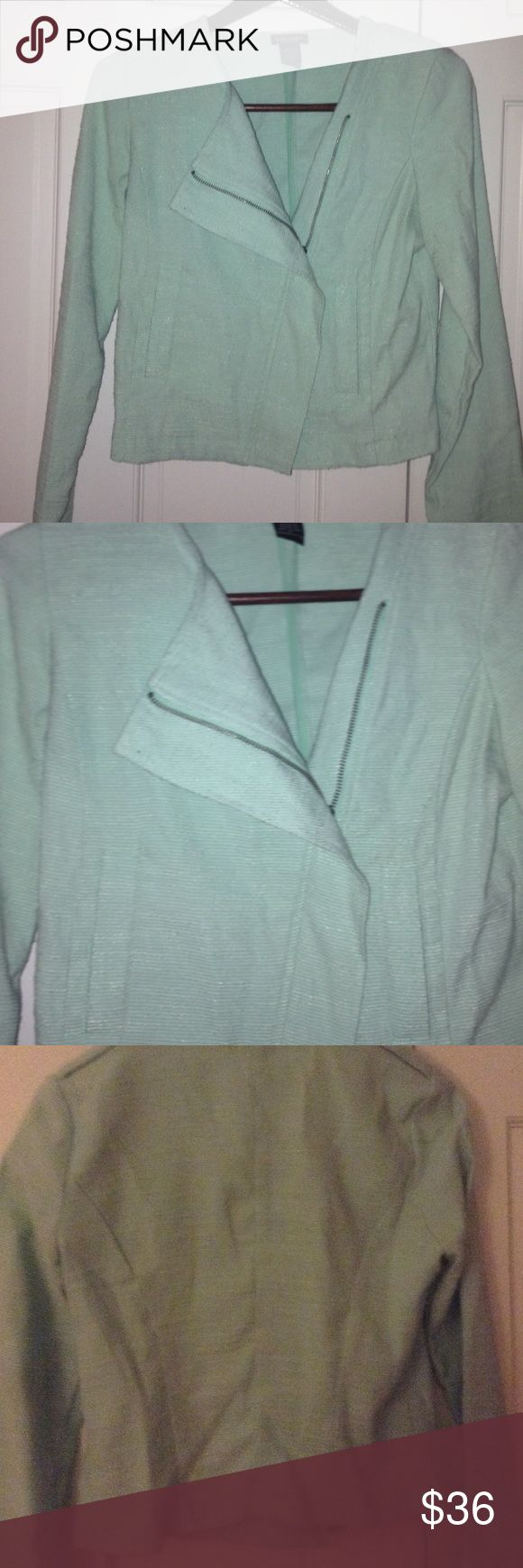 Nordstrom Mint Green Blazer Jacket! Nordstrom Mint Green Blazer Jacket! A beautiful jacket that goes perfectly with any top or dress! Nordstrom Jackets & Coats