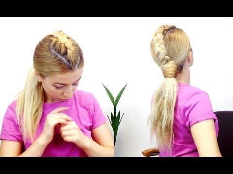 easy hair styles to do best 25 easy ponytails ideas on 1739 | 968124800ef2feff140c1348c18fa884