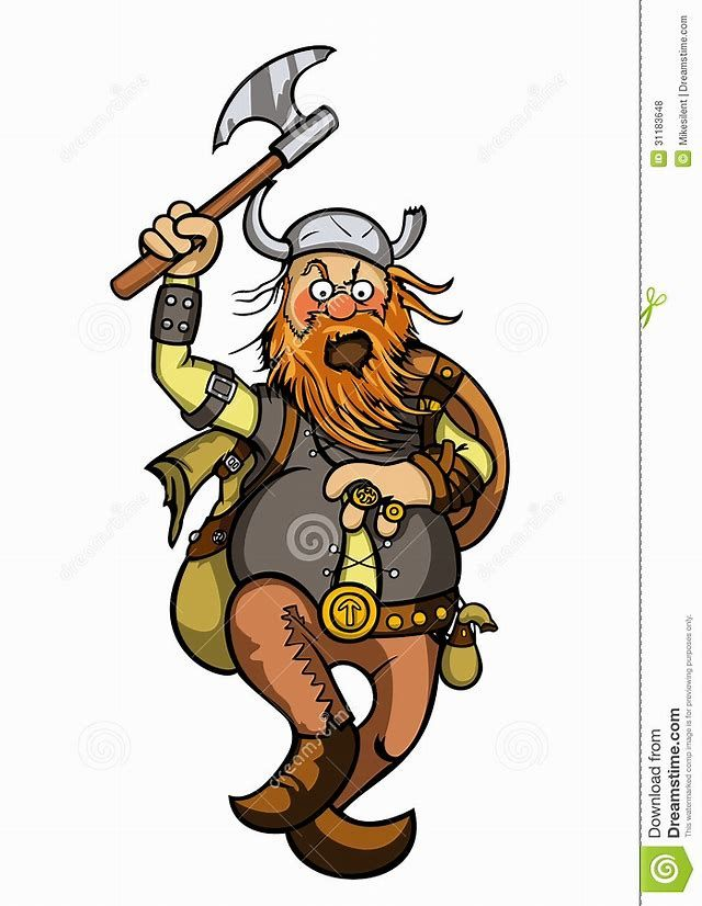 Image Result For Cartoon Viking