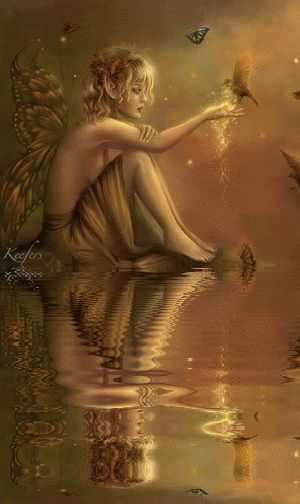 Fantasy, Water, Animation, Reflections, Water Reflections, Water Reflection.  Animated Graphics, Animated Gif, Animated Gifs, Keefers Photo:  This Photo ...