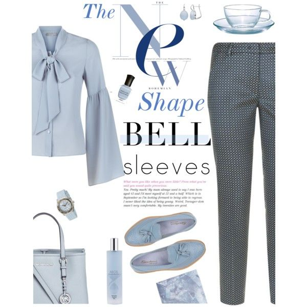 A New Shape for Fall by molly2222 on Polyvore featuring polyvore, fashion, style, Related, Weekend Max Mara, Santoni, Michael Kors, Swiza, Deborah Lippmann and Hario