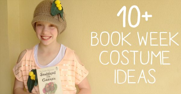 {The Organised Housewife} Book Week Costume Ideas, Kids just love book week and dressing up!