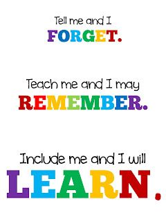 technology rocks. seriously.: tell me and i forget. teach me and i may remember. include me and I will learn.