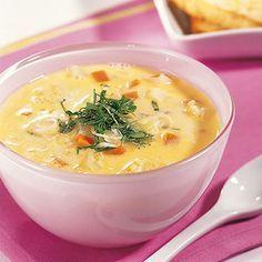 Geröstete Grünkernsuppe Rezept | Küchengötter