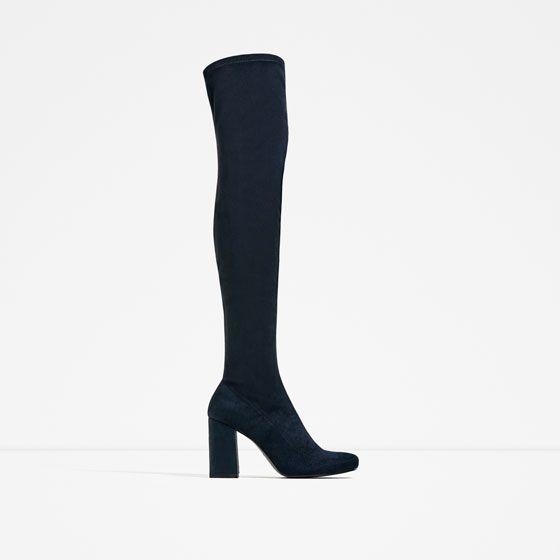 ZARA - WOMAN - STRETCH HEELED BOOTS $89.90