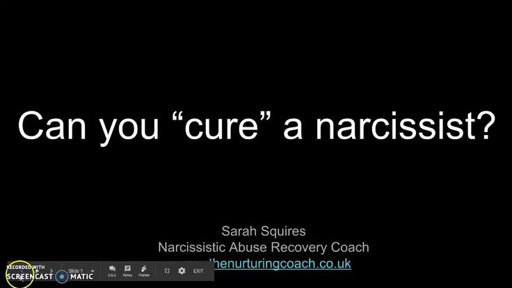 Can You Cure A Narcissist?