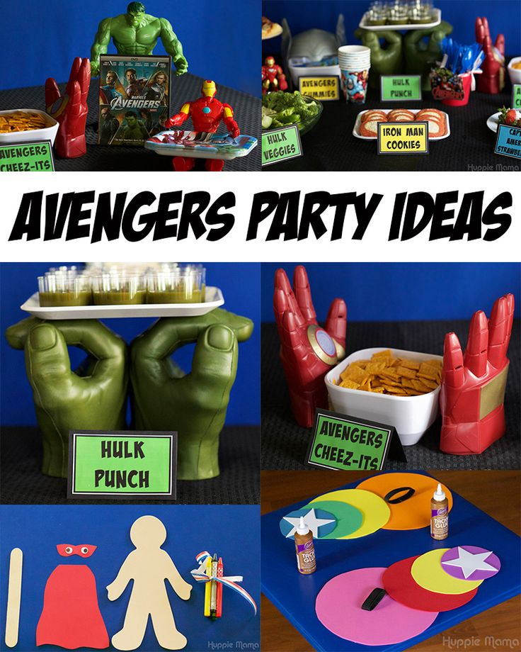 Avengers Party Ideas #AvengersUnite #ad