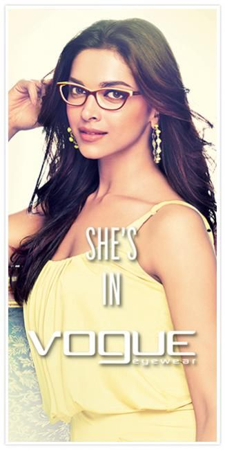 #VogueEyewear #India welcomes @DeepikaPadukone as its new face! What are your thoughts?