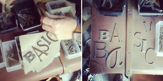 Basic Collection, vintage letter #vintage #letter #metal #aluminium #copper #iron