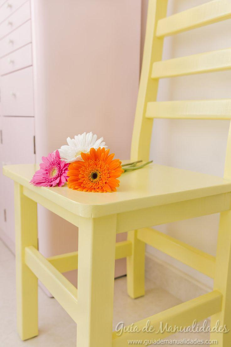 Mi nueva silla para la habitación de manualidades