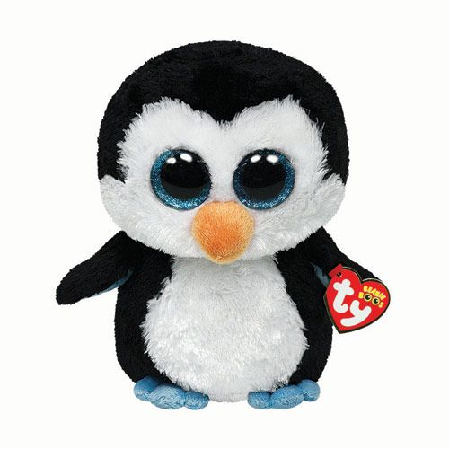 Large H22cm TY Penguin Soft Toy
