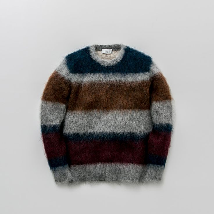 MOHAIR W FACE KNIT PULL | WORK NOT WORK
