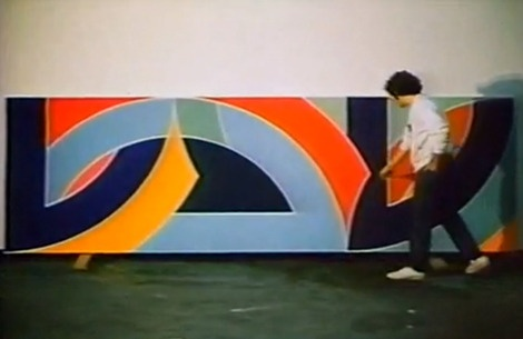 The Post-painterly Abstraction of Frank Stella