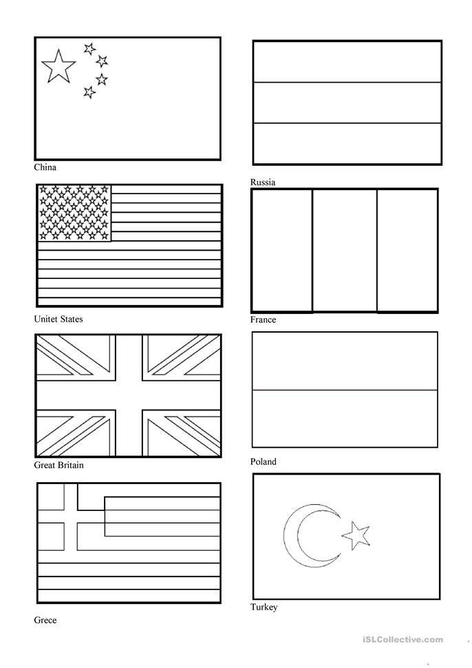 Flags Of Countries Worksheet Free Esl Printable Worksheets Made By Teachers Free Flag Printables World Flags Printable World Country Flags