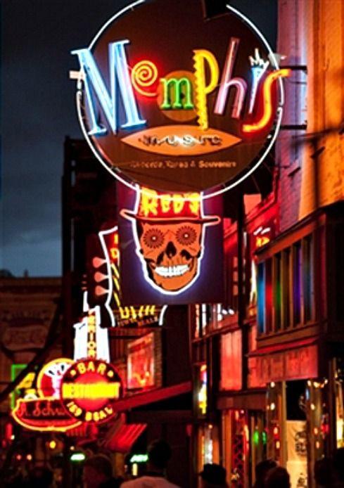 Memphis city lights