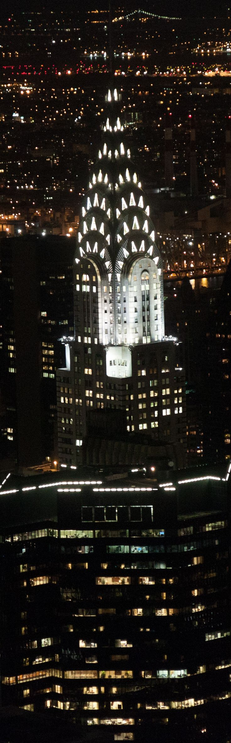 Chrysler Building as viewed from Empire State Building