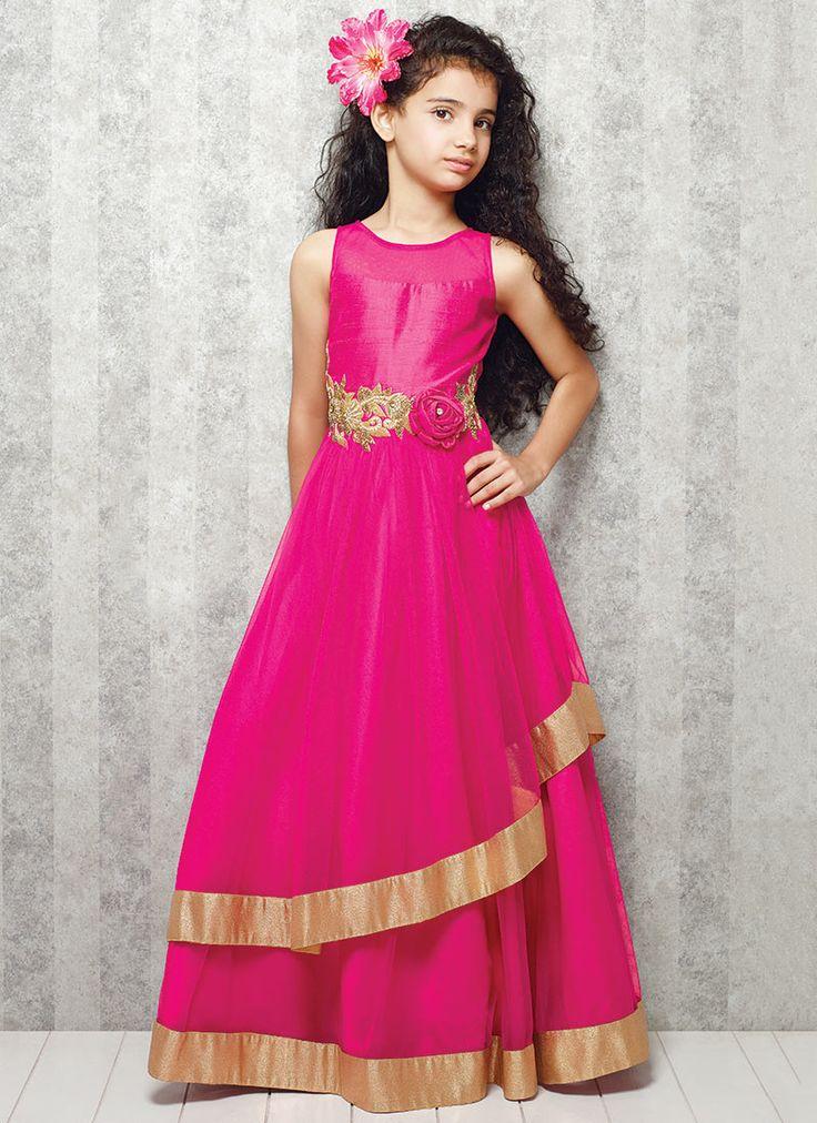 71 best images about Designer Ethnic Wear for Girl Child on Pinterest
