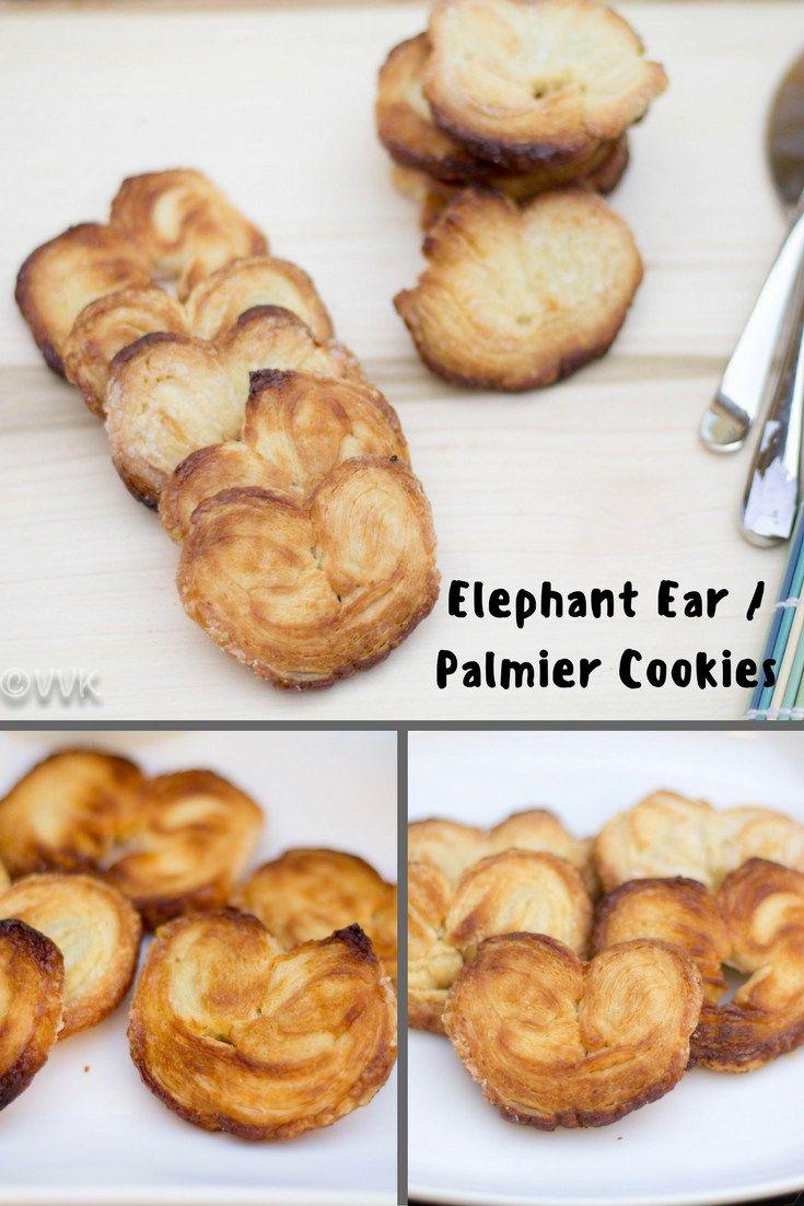 Elephant Ear Palmier Cookies