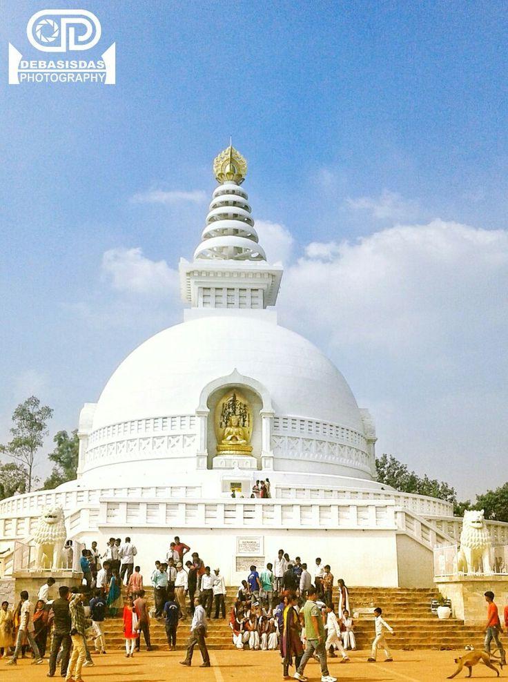 Vishwa Shanti Stupa From Bihar(Rajgir) Photo Details