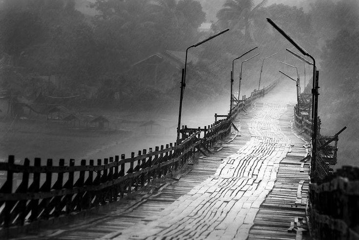 Mon Bridge, Sangkhlaburi , Thailand