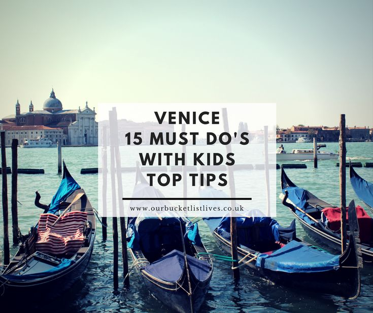 Venice 15 Must Do's With Kids - Top Tips - My top recommendations      Venice 15 Must Do's With Kids - Top Tips. My recommendations and tips for must see things to see and do with kids in Venice. https://ourbucketlistlives.co.uk/holidays-overseas/venice-15-must-dos-with-kids-top-tips/?utm_campaign=crowdfire&utm_content=crowdfire&utm_medium=social&utm_source=pinterest