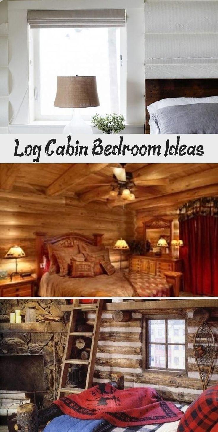 Blockhaus Schlafzimmer Ideen Home Design In 2020 Log Cabin