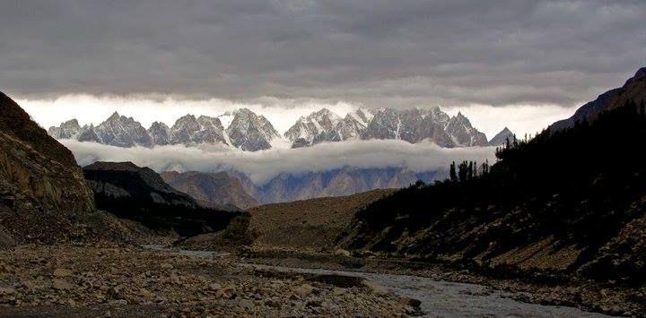 Mordor, the dark side of Tolkien's Middle-earth!   * Baltoro region in Pakistan!*