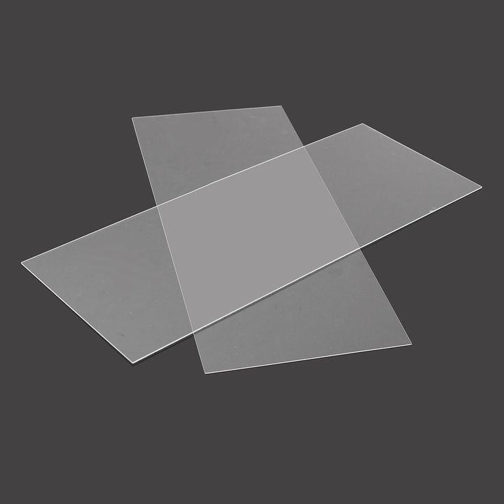 200x500mm Acrylic Perspex hoja de corte de panel de brillo de satén de plástico para la construcción