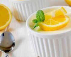 Panna Cotta allégée au citron ultra-rapide