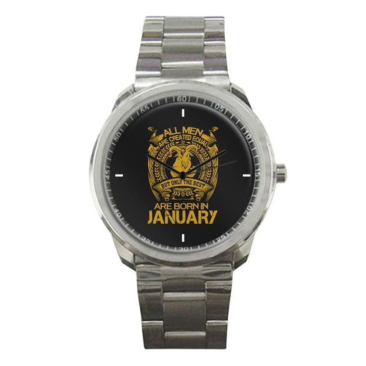 ARE BORN IN JANUARY BUT ONLY THE BEST NEW SPORT METAL WATCH   #sport,#metal,#watch