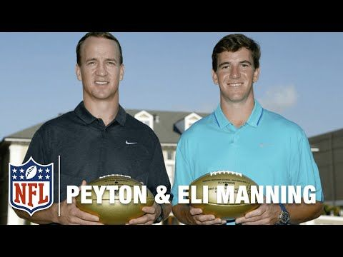 The Manning Brothers Return to Their High School | Super Bowl High School Honor Roll | NFL - YouTube