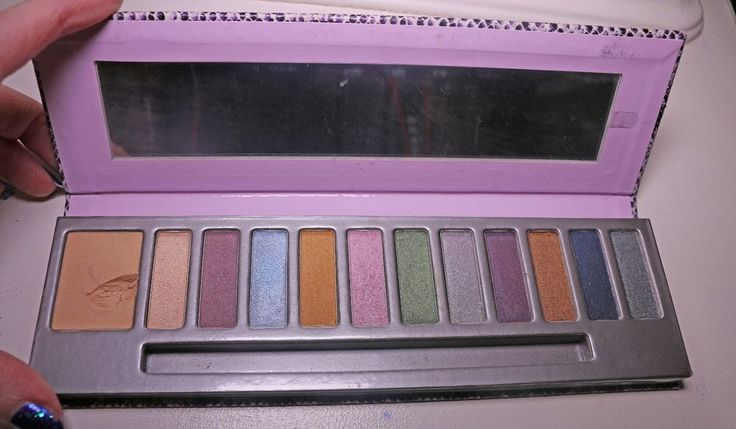 MALLY Cosmetics Citychick I Love Color Eyeshadow Makeup Palette Eye Shadow Ulta  | eBay