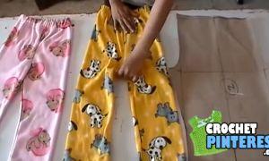 Tutorial para hacer un pantalón de pijama para niños