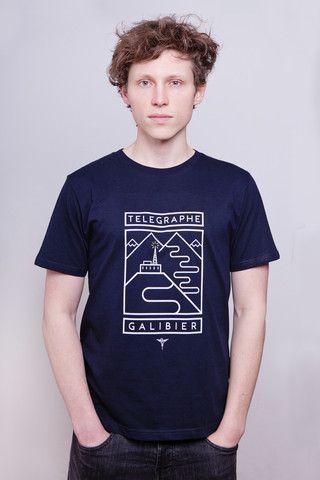 Telegraphe - Galibier Navy T-Shirt