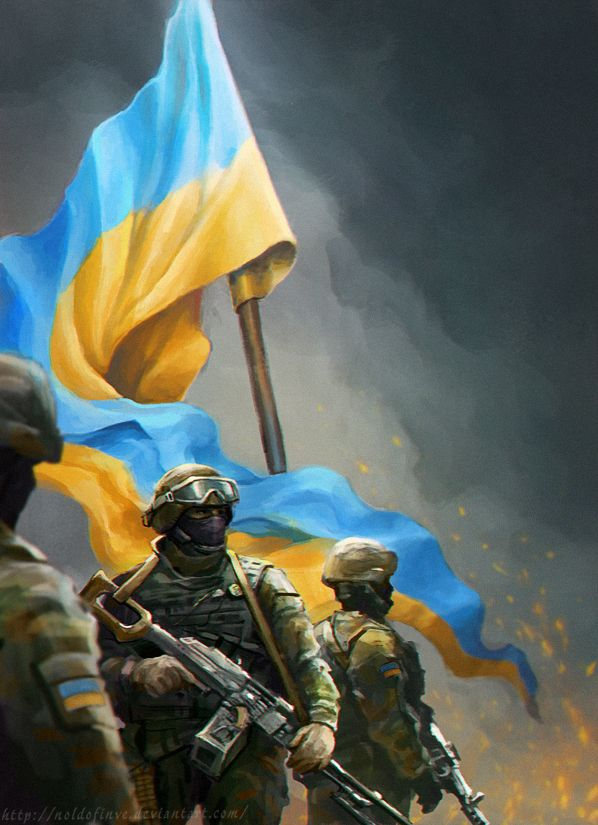 The Army by Noldofinve.deviantart.com on @DeviantArt December 6th - the Armed Forces of Ukraine Day. And this time that holiday was a real celebration of a new reviving army.