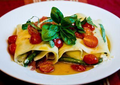 Ricette italiane: cannelloni tricolori | Ricette di ButtaLaPasta