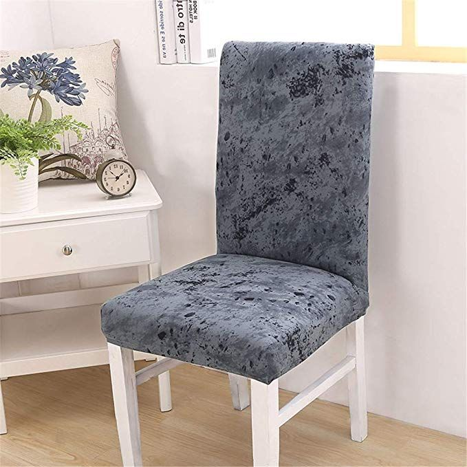 Fantastic Amazon Com Vhskhdks Beach Style Printing Dining Chair Cover Unemploymentrelief Wooden Chair Designs For Living Room Unemploymentrelieforg