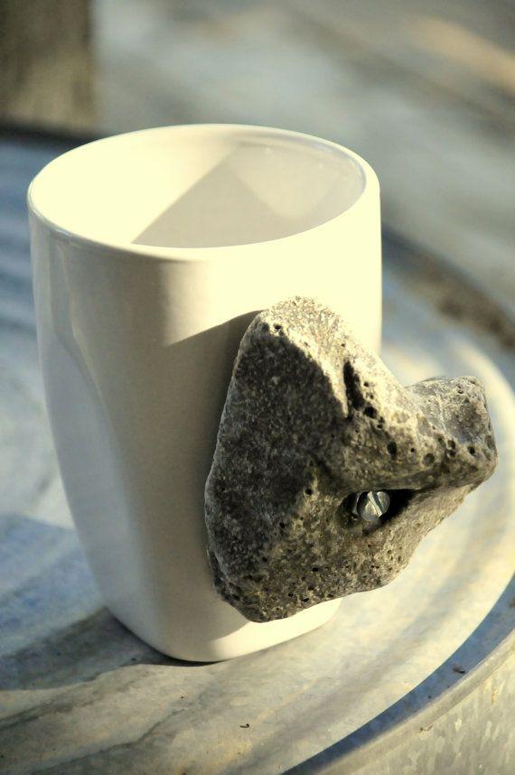 Rock Climbing  Hold Coffee Cup