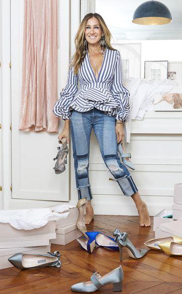Sarah Jessica Parker entwirft jetzt Party-Schuhe - und hier kannst du sie shoppen