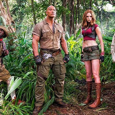 Movies: Latest Jumanji casting hints at why Karen Gillan is dressed like Lara Croft