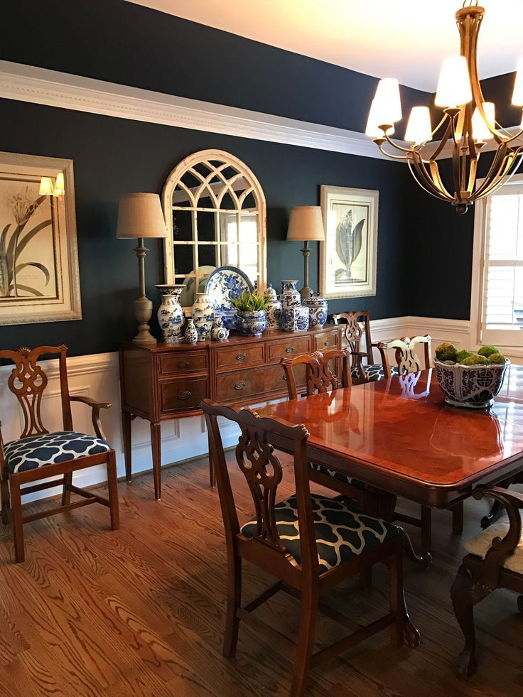 A Dining Room Design He Will Surely Love Dining Room Blue