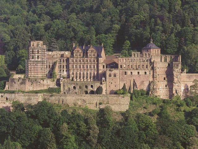 Heidelberg Castle.  I don't remember much about it because I was really ill when we went, but I did go...