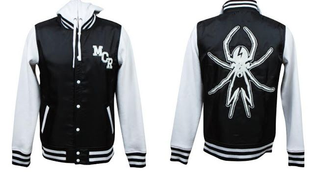 I.Need.This!!!!!  My Chemical Romance Varsity Jacket