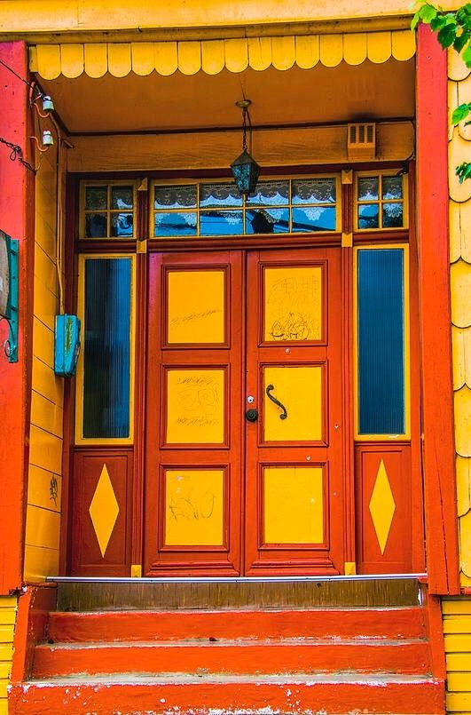 Puerto Octay, Osorno, Chile..........The orange I just could NOT do....
