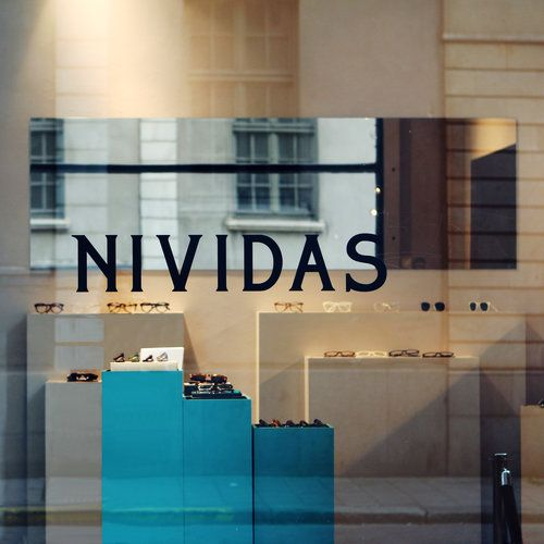 Nividas eyewear concept store in Stockholm by Part Bukowska Architects