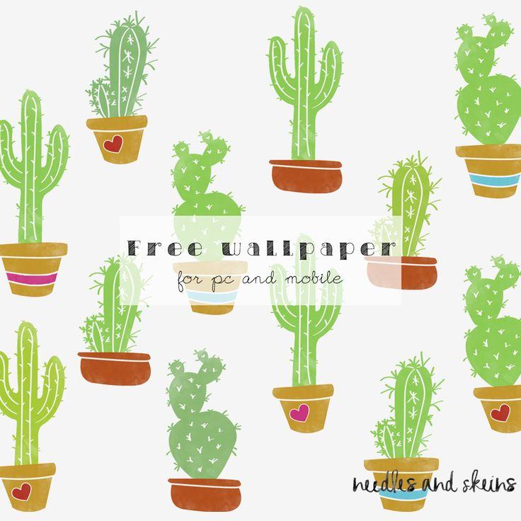 cactus free wallpaper