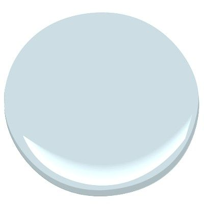 """Benjamin Moore Polar Sky (1674), a classic """"Haint Blue"""" according to Houzz (http://www.houzz.com/ideabooks/2794564/list/Renovation-Detail--The-Blue-Porch-Ceiling)"""