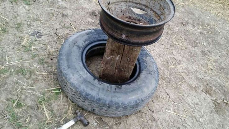 The hardest bit is getting the tyre off