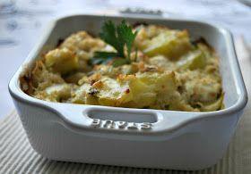 Jnane sirine (jardin des délices de sirine): Gratin de courgettes, quinoa & thon au curcuma